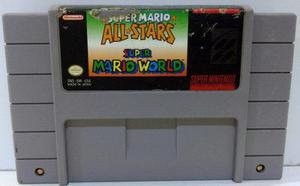 Super Mario All Star World Super Nintendo Snes Retromex Tcvg