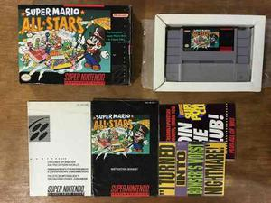 Super Mario All Stars Completo Para Super Nintendo / Snes