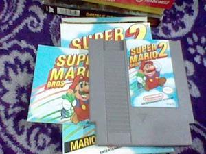 Super Mario Bros 2 Nes Nintendo Caja E Instructivo Ñxv