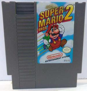 Super Mario Bros 2 Nintendo Nes Cartucho Retromex Tcvg
