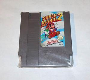 Super Mario Bros 2 Nintendo Nes Clasico !