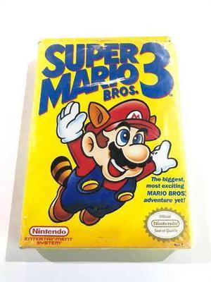 Super Mario Bros 3 En Caja Nintendo Nes Retromex Tcvg
