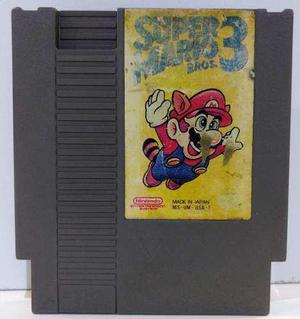 Super Mario Bros 3 Nintendo Nes Cartucho Retromex Tcvg
