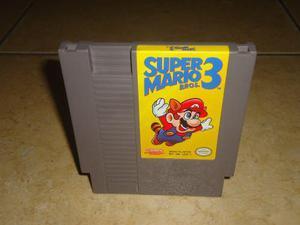 Super Mario Bros 3 Nintendo Nes Original +++