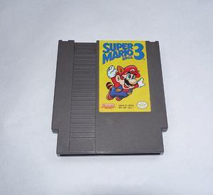 Super Mario Bros 3 Para Nintendo Nes Como Nuevo !