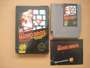Super Mario Bros Nintendo Nes Completo Raro - Rtg +++++