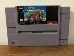 Super Mario Kart Para Super Nintendo / Snes Excelente Estado