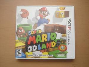 Super Mario Land 3d Para Nintendo 3ds - Rtg +++++