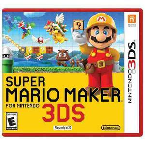 Super Mario Maker 3ds Nuevo Y Con Envio Gratis En Gamefix