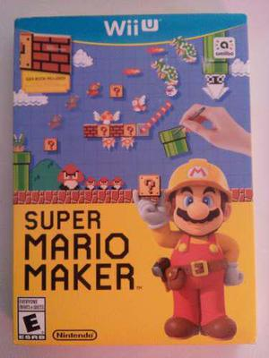Super Mario Maker Wii U Nuevo Sellado Nintendo Envío Gratis