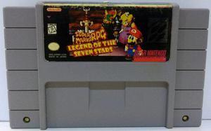 Super Mario Rpg Super Nintendo Snes Cartucho Retromex Tcvg