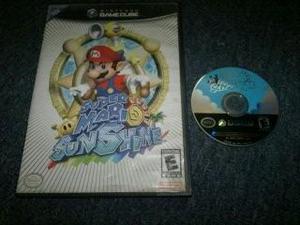 Super Mario Sunshine Completo Para Nintendo Game Cube