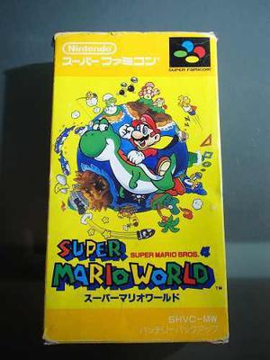 Super Mario World Completo - Super Nintendo