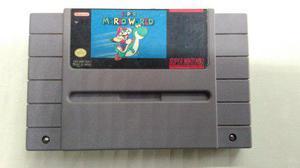 Super Mario World Para Super Nintendo Original