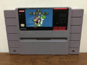 Super Mario World Para Super Nintendo Snes Buen Estado