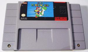 Super Mario World Super Nintendo Snes Cartucho Retromex Tcvg
