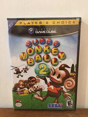 Super Monkey Ball 2 Para Nintendo Gamecube Nuevo Y Sellado