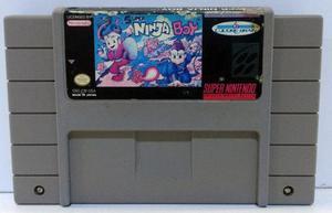 Super Ninja Boy Super Nintendo Snes Cartucho Retromex Tcvg
