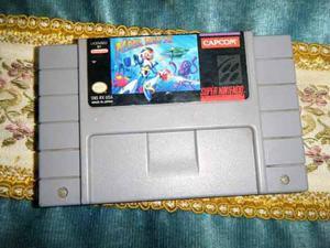 Super Nintendo Mega Man X Funciona Buen Estado
