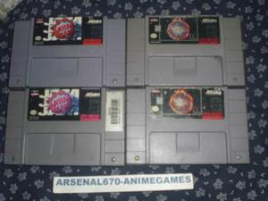 Super Nintendo Nba Jam Y Nba Jam Tournament Edition