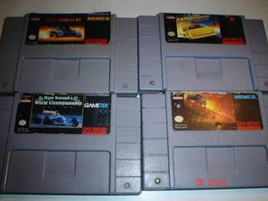 Super Nintendo Paquete Top Gear 1 Y 2 Lamborghini Nigel Snes