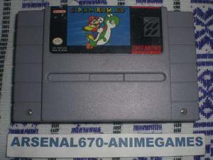 Super Nintendo Super Mario World Original A Snes