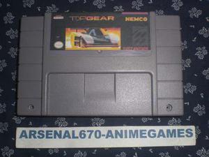 Super Nintendo Top Gear B Snes