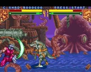 Super Nintendo Tortugas Ninja Tournament Fighters B Snes