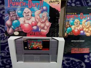 Super Punch Out Snes Caja Instructivo Super Nintendo