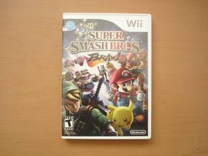Super Smash Bros Brawl Nintendo Wii Seminuevo - Rtg +++++