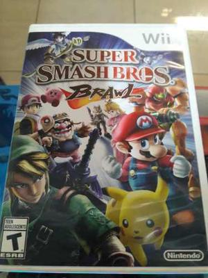 Super Smash Bros Brawl Para Nintendo Wii