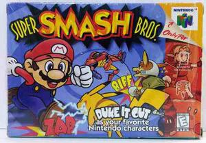 Super Smash Bros Nintendo 64 N64 Completo Retromex Tcvg