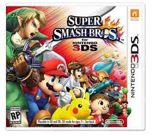 Super Smash Bros Para Nintendo 3ds:: Nuevo
