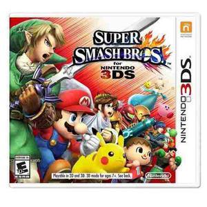 Super Smash Bros Para Nintendo 3ds Perfeto Estado----mr.game