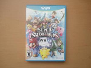 Super Smash Bros Para Nintendo Wii U Completo - Rtg +++++