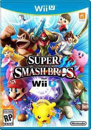 Super Smash Bros Para Nintendo Wii U----------------mr.game