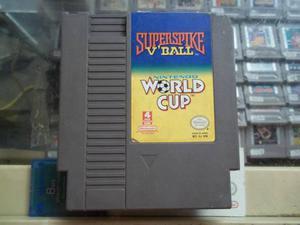 Super Spike V'ball / Nintendo World Cup Nintendo Nes