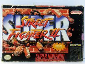 Super Street Fighter Ii 2 Super Nintendo Snes Retromex Tcvg