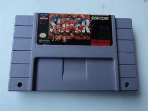 Super Street Fighter Ii Super Nintendo (snes)