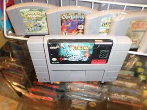 Super Turrican Super Nintendo Snes Cartucho