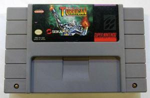 Super Turrican Super Nintendo Snes Cartucho Retromex Tcvg