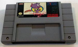 Super Widget Super Nintendo Snes Cartucho Retromex Tcvg