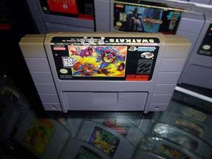 Swatkats Swat Kats Super Nintendo Snes Cartucho