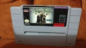 The Addams Family Super Nintendo Snes
