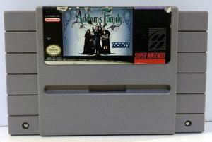 The Addams Family Super Nintendo Snes Cartucho Retromex Tcvg