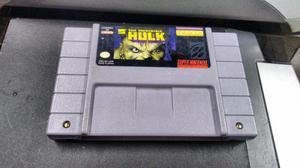 The Incredible Hulk Para Super Nintendo Snes,funcionando