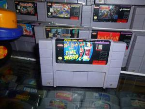 The Ren & Stimpy Show Time Warp Super Nintendo Snes Cartucho