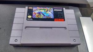 Turtles Iv In Time Para Super Nintendo Snes,funcionando