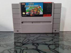 Video Juego Super Mario Kart Snes Super Nintendo Envio Inclu