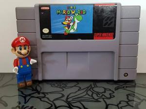Video Juego Super Mario World Para Snes Super Nintendo